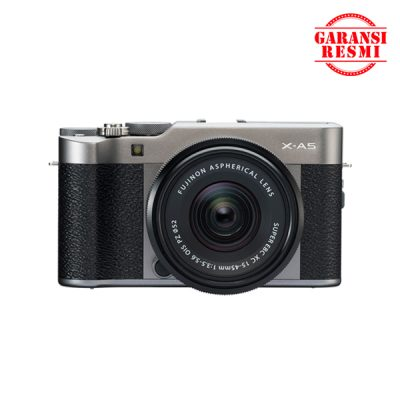 Fujifilm X-A5 with XC 15-45mm F/3.5-5.6 OIS PZ Dark Silver/Black | Sentra Digital Toko Kamera Surabaya