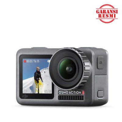 Jual DJI Osmo Action 4K Camera Murah. Cek Harga DJI Osmo Action 4K Camera, Disini Sentra Digital Kamera Surabaya. - Sentradigital.com
