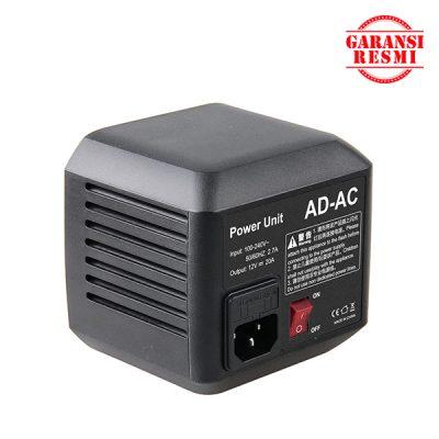 Jual Godox AC Adapter AD-AC for AD600/ SL60B Murah. Cek Harga Godox AC Adapter AD-AC for AD600/ SL60B, Disini Sentra Digital Kamera Surabaya. - Sentradigital.com