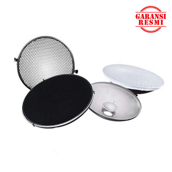 Jual Godox Beauty Dish with Grid Honeycomb C-01 55cm BDR-S550 Murah. Cek Harga Godox Beauty Dish with Grid Honeycomb C-01 55cm BDR-S550, Disini Sentra Digital Kamera. - Sentradigital.com