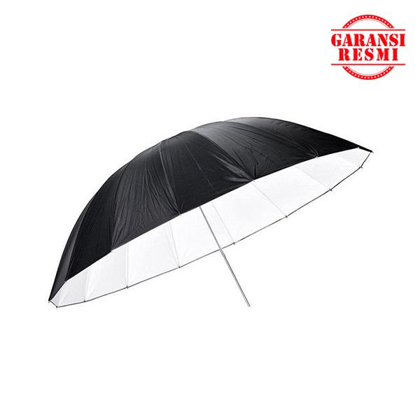 """Jual Godox Black And Silver Umbrella UB-L1 75"""" (185cm) Murah. Cek Harga Godox Black And Silver Umbrella UB-L1 75"""" (185cm), Disini Sentra Digital Kamera Surabaya. - Sentradigital.com"""