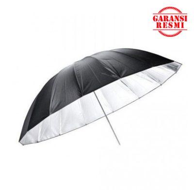 """Jual Godox Black And Silver Umbrella UB-L3 75"""" (185cm) Murah. Cek Harga Godox Black And Silver Umbrella UB-L3 75"""" (185cm), Disini Sentra Digital Kamera Surabaya. Sentradigital.com"""