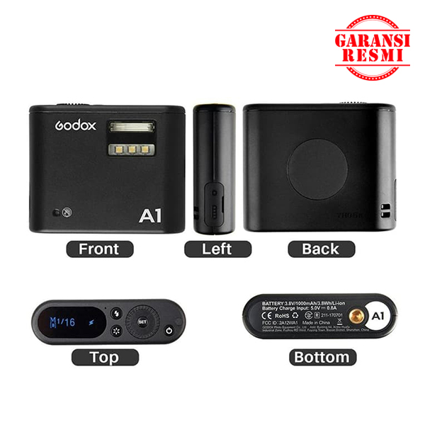 Jual Godox Flash A1 for Smartphone/HP Murah. Cek Harga Godox Flash A1 for Smartphone/HP, Disini Sentra Digital Kamera Surabaya. - Sentradigital.com