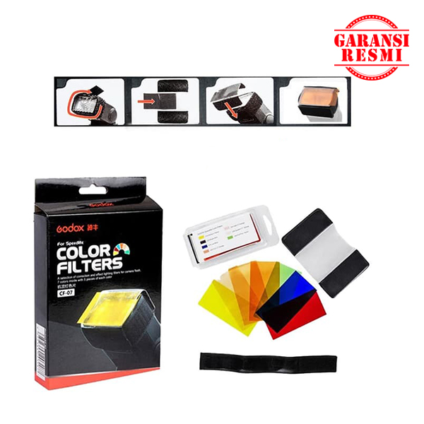 Jual Godox Gel Filter CF-07 for Flash Murah. Cek Harga Godox Gel Filter CF-07 for Flash, Disini Sentra Digital Kamera Surabaya. - Sentradigital.com