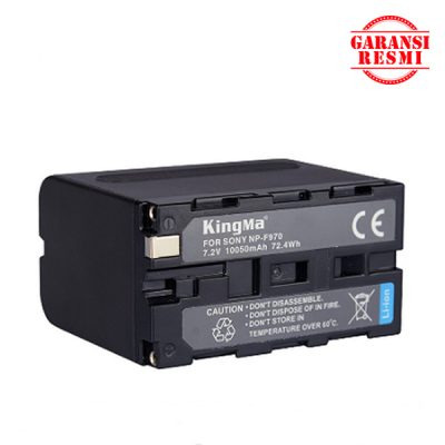 Jual KingMa Digital Camcorder Battery NP-F970 Murah. Cek Harga KingMa Digital Camcorder Battery NP-F970, Disini Sentra Digital Kamera Surabaya. Sentradigital.com