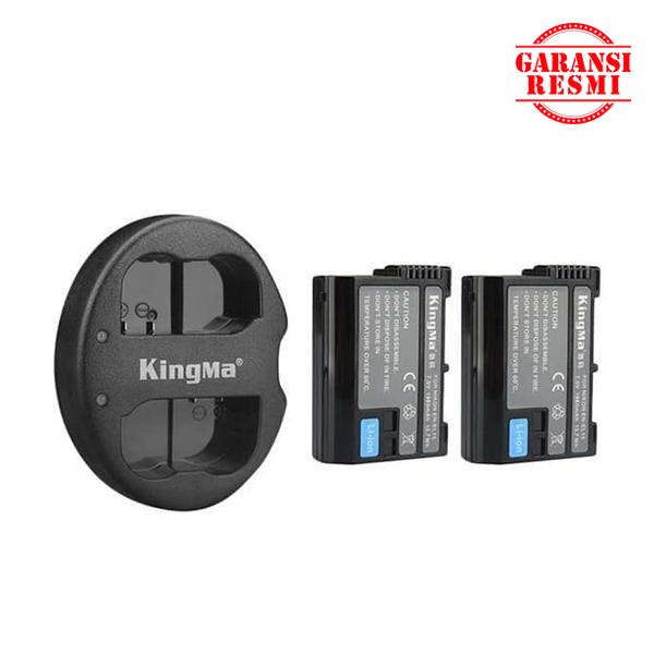 Jual KingMa Dual Battery Charger Kit EN-EL15 Murah. Cek Harga KingMa Dual Battery Charger Kit EN-EL15, Disini Sentra Digital Kamera Surabaya. - Sentradigital.com