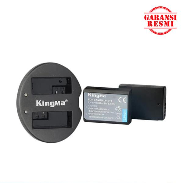 Jual KingMa Dual Battery Charger Kit LP-E10 Murah. Cek harga KingMa Dual Battery Charger Kit LP-E10 , Disini Sentra Digital Kamera Surabaya. - Sentradigital.com
