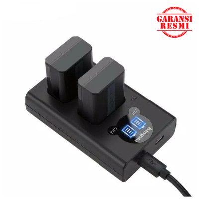 Juak KingMa Dual Battery Charger Kit NP-FW50 (LCD Indicator) Murah. Cek Harga KingMa Dual Battery Charger Kit NP-FW50 (LCD Indicator), Disini Sentra Digital Kamera Surabaya. - Sentradigital.com