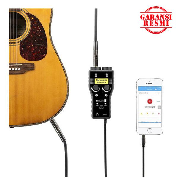 Jual Saramonic Audio Adapter for Proffesional Microphones / Guitars SmartRig 2 Murah. Cek Harga Saramonic Audio Adapter for Proffesional Microphones / Guitars SmartRig 2, Disini Sentra Digital Kamera Surabaya. - Sentradigital.com