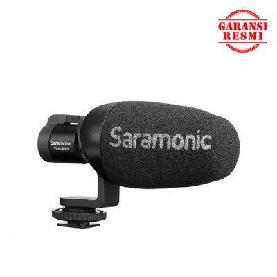 Jual Saramonic Condenser Video Microphone for DSLR/Smarphone Vmic Mini Murah. Cek Harga Saramonic Condenser Video Microphone for DSLR/Smarphone Vmic Mini. Disini Sentra Digital Kamera Surabaya. - Sentradigital.com