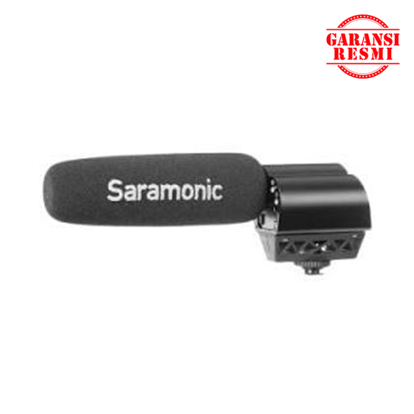 Jual Saramonic Shotgun Microphone/Audio Recorder Vmic Recorder Murah. Cek Harga Saramonic Shotgun Microphone/Audio Recorder Vmic Recorder, Disini Sentra Digital Kamera Surabaya. - Sentradigital.com