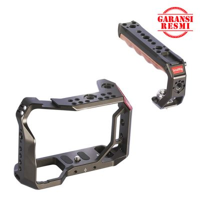 Jual SmallRig Camera Cage and handle kit for Sony A7RIII/A7III – KCCS2694 Murah. Cek Harga SmallRig Camera Cage and handle kit for Sony A7RIII/A7III – KCCS2694, Disini Sentra Digital Kamera Surabaya. - Sentradigital.com