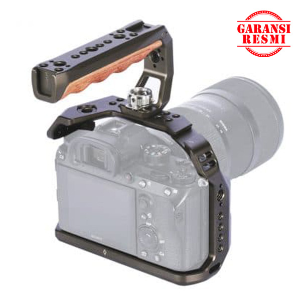 Jual SmallRig Camera Cage and handle kit for Sony A7RIII/A7III – KCCS2694 Murah. Cek Harga SmallRig Camera Cage and handle kit for Sony A7RIII/A7III – KCCS2694, Disini Sentra Digital Kamera Surabaya. - Sentradigital.com