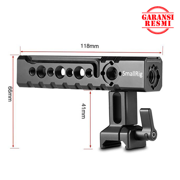 Jual SmallRig Camera/Camcorder Action Stabilizing NATO handle – 1955 Murah. Cek Harga SmallRig Camera/Camcorder Action Stabilizing NATO handle – 1955, Disini Sentra Digital Kamera Surabaya. - Sentradigital.com