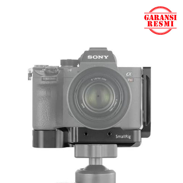 Jual SmallRig L Bracket for Sony Sony A7RII/A7III/A9 – 2122C Murah. Cek Harga SmallRig L Bracket for Sony Sony A7RII/A7III/A9 – 2122C, Disini Sentra Digital Kamera Surabaya. - Sentradigital.com