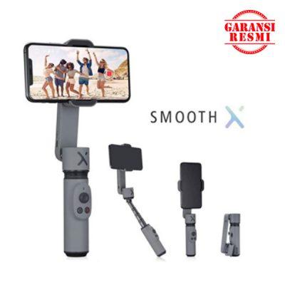Jual Zhiyun Smooth X 2-Axis Gimbal Smartphone Stabilizer Grey Murah. Cek Harga Zhiyun Smooth X 2-Axis Gimbal Smartphone Stabilizer Grey, Disini Sentra Digital Kamera Surabaya. - Sentradigital.com